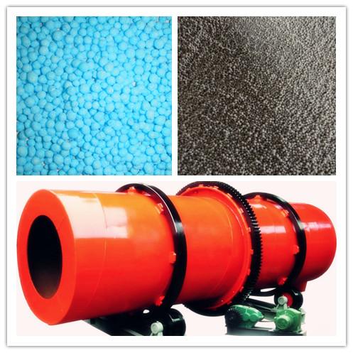 rotary drum granulator and compound fertilizer granules
